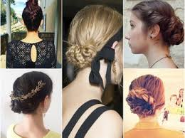 cuisiner des chignons coiffure de soirée express le chignon couture en vidéo femme