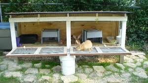 How To Build A Rabbit Hutch Out Of Pallets Diy Outdoor Rabbit Cage Plans Do It Your Self