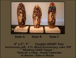 5th anniversary gifts 5th anniversary gift wood anniversary gift five year anniversary