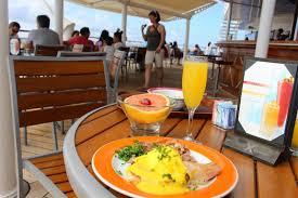 breakfast thanksgiving mami eggroll thanksgiving on celebrity cruise