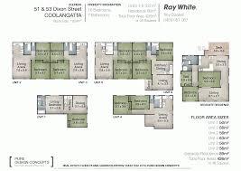 747 floor plan 51 and 53 dixon street coolangatta qld 4225 sold