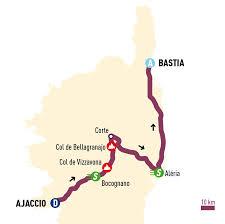 Corsica Map 2015 Uci Cycling Calendar 2015 Classica Corsica Velowire Com