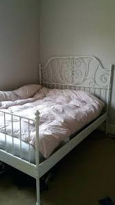 Leirvik Bed Frame Reviews Leirvik Bed Frame Bed Frame White Bed Frames Bed Frame White Bed