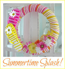 flip flop wreath flip flop wreath