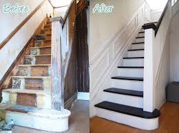 Sanding A Banister Diy Duel Staircase Restoration U2013 It U0027s Done Little House On