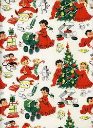 vintage christmas wrapping paper 276 best vintage christmas wrapping paper images on