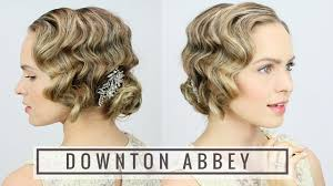 how to do 20s hairstyles for long hair 1920 s finger wave updo youtube