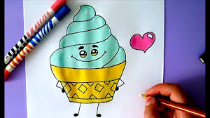 ice cream emoji how to draw an ice cream the emoji movie youtube