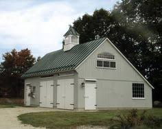 Garages That Look Like Barns Post Frame Construction Ohio Hochstetler Buildings Inc Featured