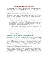 tablas y tarifas isr pagos provisionales 2016 formas autorizadas de pago personas físicas