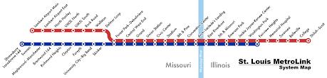 stl metro map stl metrolink rail map wheelchairtravel org