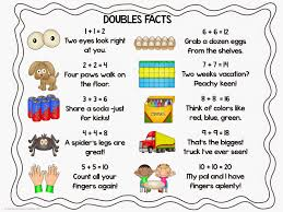 doubles fact 2nd grade snickerdoodles doubles facts freebie