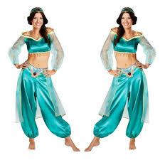 Belly Dance Halloween Costume Cheap Jasmine Halloween Costumes Aliexpress