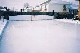 Backyard Hockey Rink Kit by How To Build A Backyard Hockey Rink