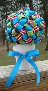 How To Make Ribbon Topiary Centerpieces by Centerpieces Thanks Mandy Piechocki For Following Us You Have