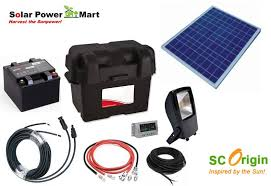 diy solar flood light 50 watt do it yourself floodlight kit 1 400 lumen