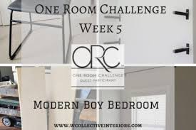 fall 2017 one room challenge guest participants week one room challenge modern boy bedroom reveal w collective interiors