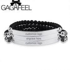 customized name bracelets shop personalized beaded name bracelets on wanelo