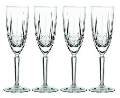 amazon com marquis by waterford sparkle flute set of 4
