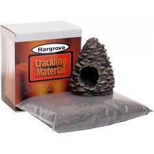 hargrove crackling pine cone kit gas log guys