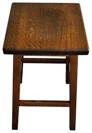 mission wooden bar stool quartersawn oak wood bar stools and