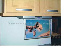 kitchen television ideas kitchen wonderful small for kitchen home design counter tvs tv uk