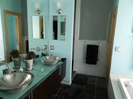 gray and turquoise bathroom ideas
