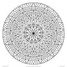 images of printable hard geometric coloring pages geometrip com