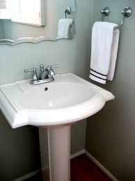 pedestal sink bathroom design ideas pedestal sink bathroom ideas