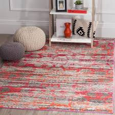 Pink Grey Rug Safavieh Monaco Pink Multi 9 Ft X 12 Ft Area Rug Mnc225d 9 The
