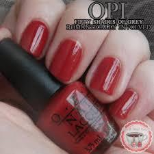opi fifty shades of grey swatches tea u0026 nail polish