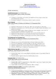 On The Job Training Resume by Temur Davronov U0027s Resume