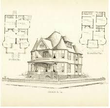 victorian house blueprints vintage victorian house plans victorian pinterest victorian