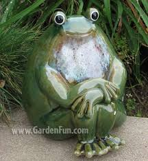 ceramic frog statue peaceful garden only 38 95 at garden