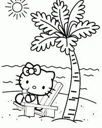 printable kitty coloring pages kids sheet cartoons puppy