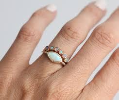 opal wedding ring opal ring opal wedding ring opal wedding band gold