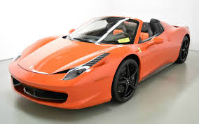 used 458 spider 2015 458 spider for sale in norwell ma 203958 mclaren