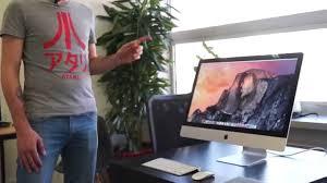 bureau pour imac 27 les numériques présentation apple imac 27 pouces retina 5k