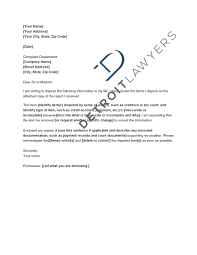 Dispute Letter For Experian check the accuracy of your credit reports detroit lawyers