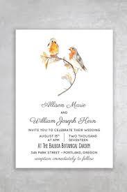 love bird printable wedding invitation alchemie press