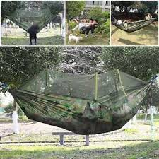 double person hammock with mosquito net for outdoor travel camping