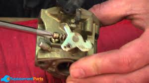 how to fix a lawn mower carburetor youtube