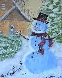 a christmas snow a christmas snow artbycindyj paintings prints holidays