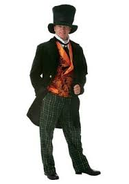 Male Halloween Costumes Mad Hatter Costumes Alice In Wonderland Madhatter Halloween Costume