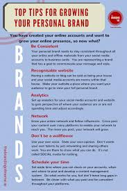 top tips on how to manage your personal brand u2013 the branding of me