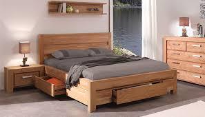 chambre lit lit deux places luxe chambre lit 2 places en teck de conception