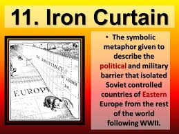 Eastern Europe Iron Curtain What Does The Term Iron Curtain Describe Integralbook Com
