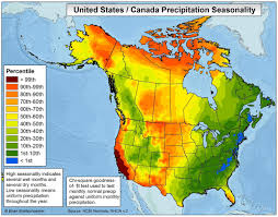 Precipitation Map Of The United States by Brian Brettschneider On Twitter