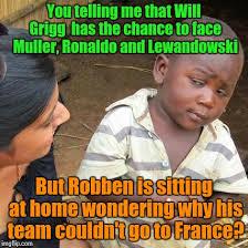 Robben Meme - third world skeptical kid meme imgflip