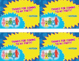 Yo Gabba Gabba Images by Yo Gabba Gabba Birthday Clipart Clipartsgram Com